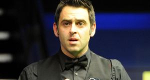 Ronnie O'Sullivan: climbdown to Barry Hearn over tweets