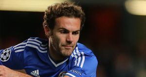 Chelsea's Juan Mata is spending increasingly more  time  warming the bench: Photograph: Nick Potts/PA