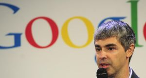 Larry Page: The new company will focus on issues such as decreased mobility and mental agility in addition to life-threatening diseases. Photograph:  Emmanuel Dunand/AFP/Getty Images