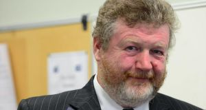 Minister for Health Dr James Reilly at yesterday's launch of the Health Behaviour in School-aged Children Ireland Trends Report 1998-2010 which was carried out by the Health Promotion Research Centre in NUI Galway. Photograph: Bryan O'Brien