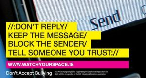 An image from the Department of Education as part of an anti-bullying campaign.
