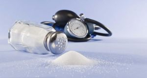 Reducing or cutting out salt altogether can held lower your blood pressure