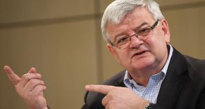 "Former German Foreign Minister Joschka Fischer: ""Instead of talking about the environment, Europe, education and families we just talked about taxes and levies,"" he said, claiming the strategy ""not only won no new voters but put off many old ones"".  Photograph: Getty Images"
