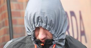 Trevor Corr of Kiltalown Way, Tallaght, pictured at Tallaght District Court today. Photograph: Colin Keegan/ Collins Dublin.