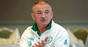 Republic of Ireland interim manager  Noel King. Photograph: Morgan Treacy/Inpho
