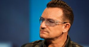 U2 frontman Bono defended Ireland's tax system and the use of Irish companies by multinational companies to reduce their global tax bills. Photograph: Ramin Talaie/Getty Images