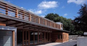 Ranelagh Multi-Denominational School.    Photograph: O'Donnell Tuomey Architects