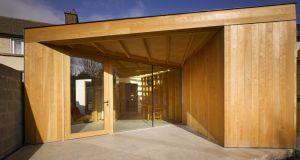Courtyard extension by Eamon Peregrine. Photograph: Ros Kavanagh
