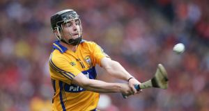 Clare'sTony Kelly: Saturday will be his fifth All-Ireland final. Photograph: Inpho