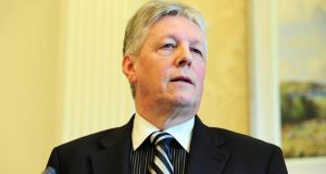 "Sinn Féin president Gerry Adams attacked First Minister Peter Robinson (pictured)  in the Dáil this week and talked about a ""crisis"" within loyalism and unionism"