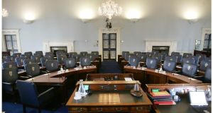 'The weakest institution by far under the Constitution has been the Seanad.' Photograph: Alan Betson