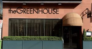 The Greenhouse: now the best un-starred restaurant in Ireland. Photograh: David Sleator