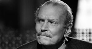 Sir Laurence Olivier: his narration was a major factor in the success of 'The World at War'.   Photograph: Getty Images
