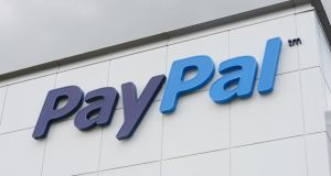 Companies with a tax  rate of 12.5 per cent in their most recent financial year include  Paypal. Photograph: Alan Betson