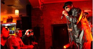 Bobby Womack performs  live in the Dakota Bar on South William Street, Dublin.   Photograph: Bryan O'Brien
