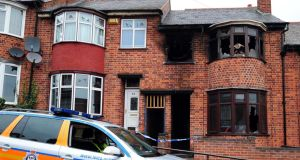 Shehnila Taufiq (47), her daughter Zainab (19), and two sons Bilal (17), and 15-year-old Jamil, died in the blaze at their home on Wood Hill in Leicester, England, on Friday, September 13th last. Photograph: Rui Vieira/PA Wire