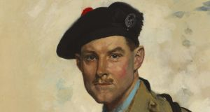 Sir William Orpen's Portrait of Captain Colin David Brodie, dating from 1928, (€20,000-€30,000)