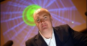 Comedian Dara O'Briain photographed last year in Trinity College where he presented Leviathan. Photograph: Brenda Fitzsimons / IRISH TIMES