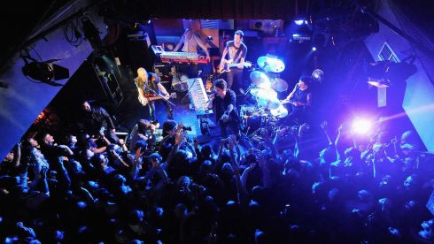 The Script performs at Whelan's. Photograph: Dave Meehan/Getty Images