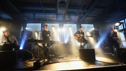 Dublin based band Kodaline perform at the Guinness Storehouse. Photograph: Ian Gavan/Getty Images