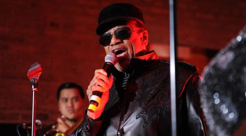 Bobby Womack performs at the Dakota as part of the fifth annual Arthur's Day celebrations in Dublin. Photograph: Stuart C. Wilson/Getty Images