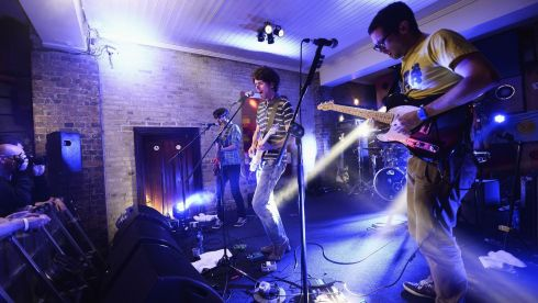 Bouts perform at the Dakota in Dublin. Photograph: Ian Gavan/Getty Images