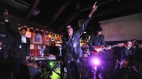 Bobby Womack performs at Sinnots in Dublin. Photograph: Stuart C. Wilson/Getty Images