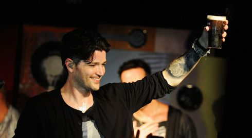 Danny O'Donoghue from The Script performs at Whelan's. Photograph: Dave Meehan/Getty Images