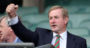 Enda Kenny: won plaudits from the media for being decisive and ruthless. Photograph: INPHO/Cathal Noonan