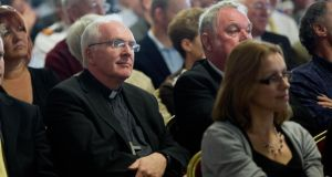 The Bishop of Limerick Brendan Leahy at the Implementation plan. Photograph: Sean Curtin Photo.
