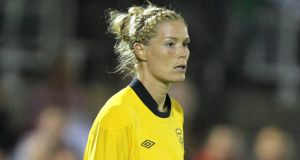Republic of Ireland Goalkeeper Emma Byrne