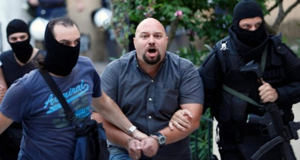 another golden dawn mp taken into custody in greece