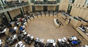 The Bundesrat is comprised of delegates sent by the governments of the 16 federal states.