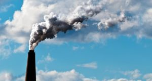 Carbon dioxide emissions globally have risen from 22.7 billion tonnes in 1990 to 33.9 billion in 2011