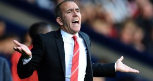 Paolo Di Canio:  'There was no training ground bust-up as some are reporting and many of the players have since sent me messages thanking me for my time as their manager and helping them improve as footballers'. Photograph:  Tony Marshall/Getty Images