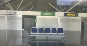 Empty terminal building at Ciudad Real. Photograph: Mary Boland