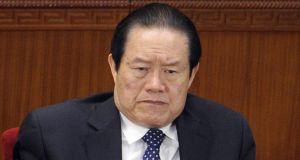 Zhou Yongkang was reportedly in trouble with the new administration over graft charges.