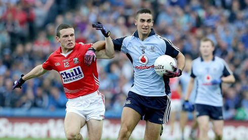 Half-back line - James McCarthy (above), Cian O'Sullivan, Lee Keegan: McCarthy is the epitome of Dublin – powerful, brave, aggressive. A great number five. O'Sullivan's versatility was vital for Dublin and his athleticism was a huge asset. Keegan keeps raising the bar for himself, a fine defender who came forward to kick crucial scores.