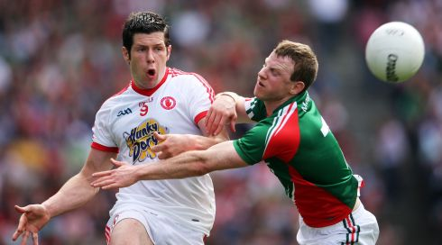 Half-forward line -  Paul Flynn, Colm Cooper, Seán Cavanagh (above):  Probably the easiest line to pick because all three are automatic choices. I've said all year Flynn would probably be the most sought-after player in a transfer market and Cavanagh more or less single-handedly carried Tyrone to a semi-final. And really, there's nothing more to say about the Gooch.