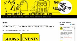 A full programme for the Galway Theatre Festival is on galwaytheatrefestival.com, and tickets can be booked through the Town Hall Theatre box office, Galway, at (091) 569777.