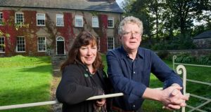 Ann O'Sullivan and partner Michael Garvey, owners of Ballinterry House. Photograph:  Daragh Mc Sweeney/Provision