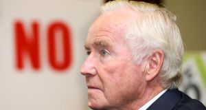 Senator Feargal Quinn: moved the Private Members' bill to abolish upward only rent