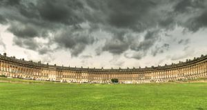 The Royal Crescent in Bath. Photographs: Getty
