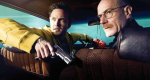 Aaron Paul    and Brian Cranston in Breaking Bad