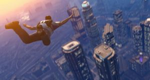 Skydiving into Los Santos: the open-world experience of Grand Theft Auto V is remarkable - but can it compare to watching a movie?