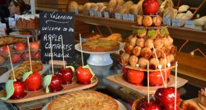 Apple season specialities at il Valentino bakery and cafe