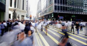 Hong Kong's bustling business district. Photograph: Thinkstock