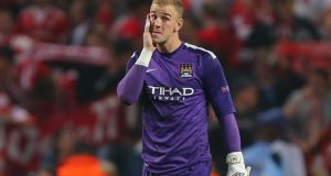 England manager Roy Hodgson has expressed his full support for  under-fire Manchester City goalkeeper  Joe Hart ahead of crucial World Cup qualifiers against Montenegro and Poland this month. Photograph:  Dave Thompson/PA Wire