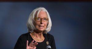 "Christine Lagarde, managing director of International Monetary Fund, said it was ""mission critical"" that the US agreed a higher debt ceiling to allow the government to pay its bills."