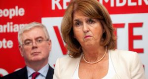 The allocation of funds to Joan Burton's department remains undecided in the wake of these meetings between the two Labour colleagues, but Ms Burton has set her face against a fresh drive for the full €440 million adjustment.